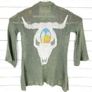 Show Me Your Mumu Ojai Bull Easy Cardi Sweater